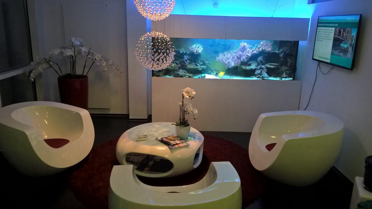 700-Liter-Aquarium in Wolfsburg – Zahnarztpraxis Deac & Kollegen